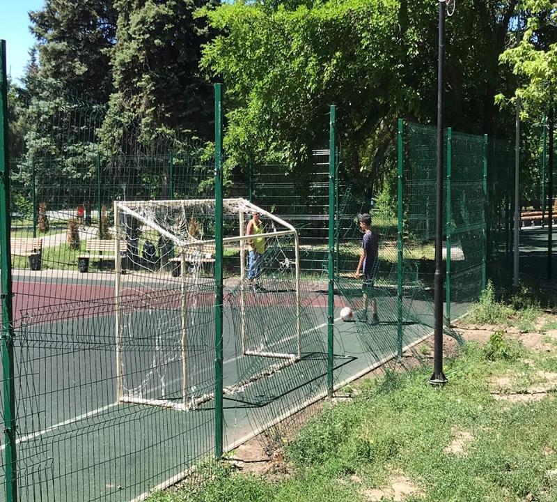 Парк старого управленческого режима в Таганроге