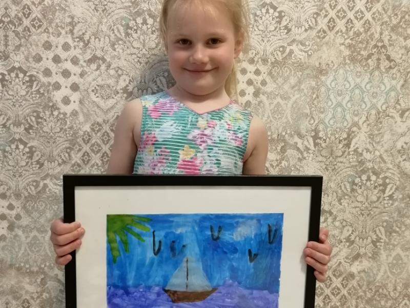 Стать русалкой хочет 5-летняя Симона Косенко