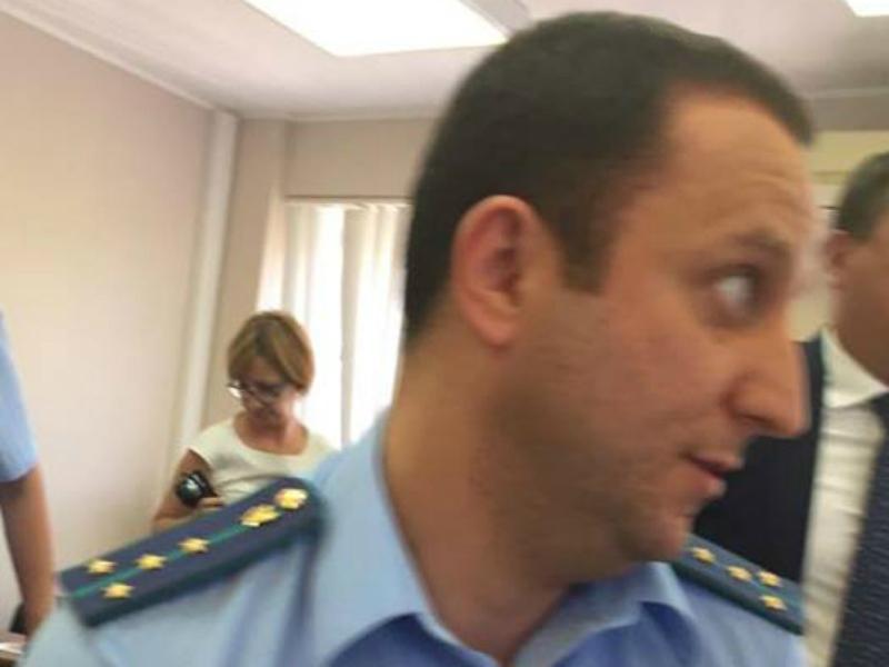Заместителя прокурора Таганрога М.Самуеляна перевели на другое место работы