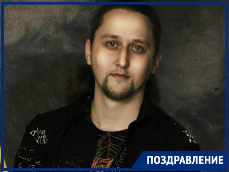 День Рождения у Виталия Ляшека, звукорежиссера Таганрогского молодежного театра