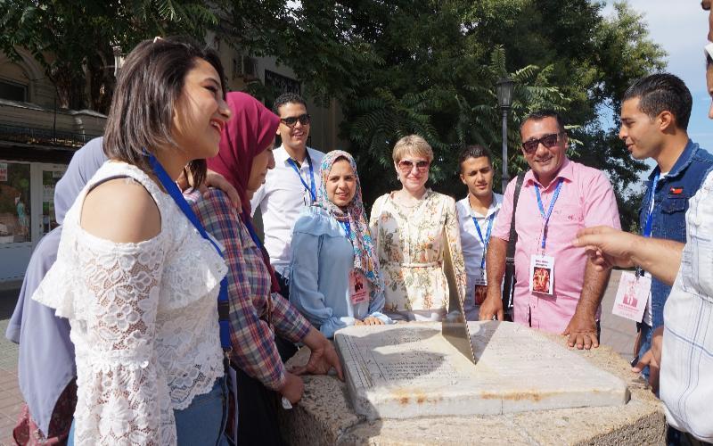 В Таганроге побывали будущие археологи из Египта