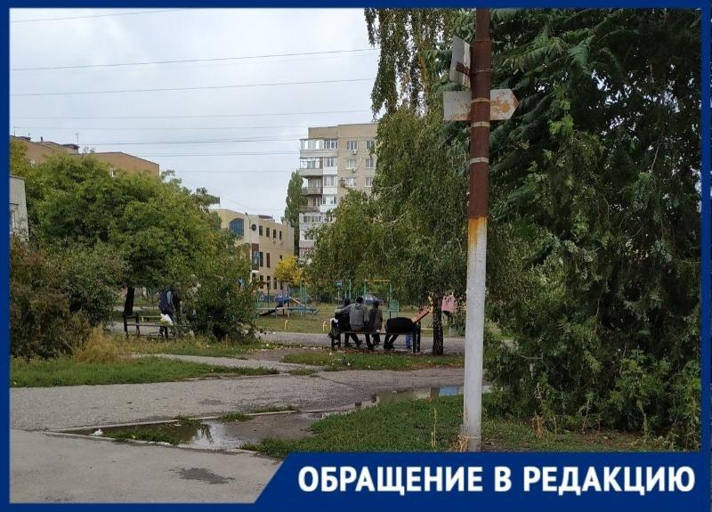 Хулиганы с ножами разгуливают по злачному району Таганрога