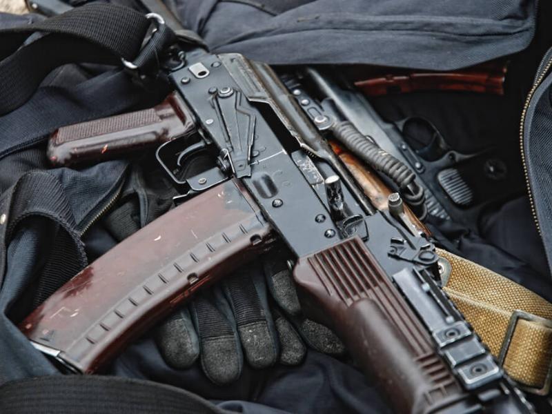 Под Таганрогом задержали жителя ДНР с оружием для продажи преступным группировкам