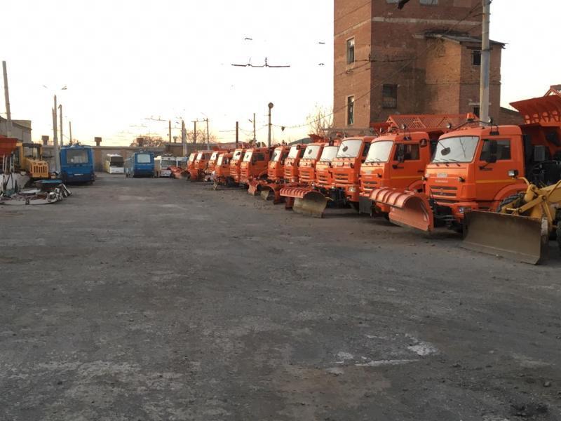 «Благоустройство» готово к зимнему содержанию дорог Таганрога