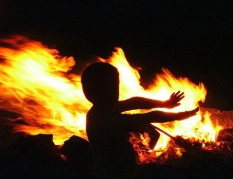 Трое детей пострадали в пожаре под Таганрогом