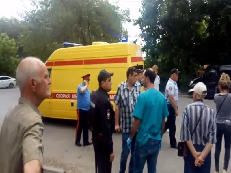 В соцсетях появилось видео резни, что произошла на Новом вокзале в Таганроге