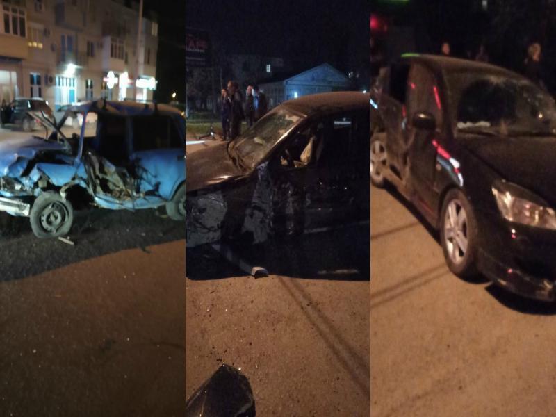 Тройное ДТП произошло в Таганроге на злополучном месте