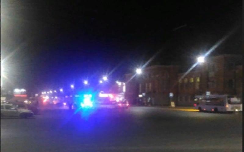 В Таганроге у Нового вокзала произошла авария