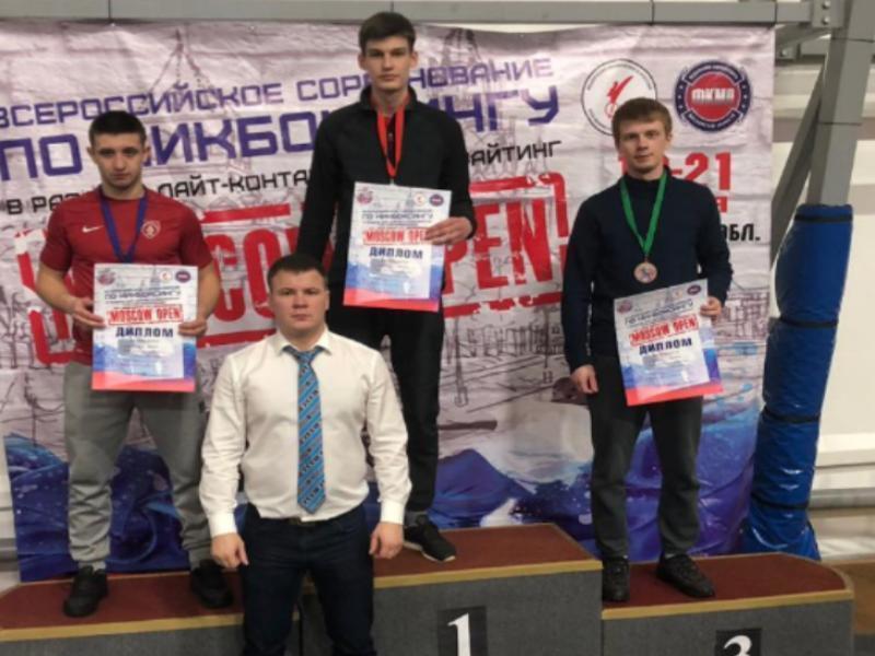 Спортсмен из Таганрога привез победу со Всероссийского турнира по кикбоксингу