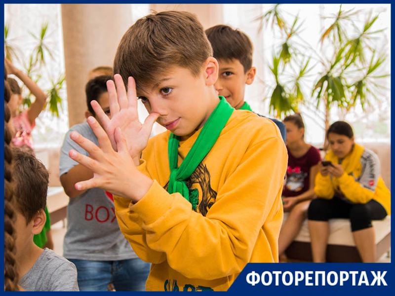 В Таганроге прошел заводной праздник для детей «Зов джунглей!»