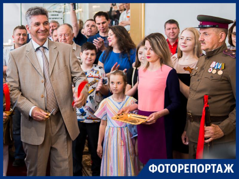 В Таганроге открыл свои двери восстановленный после пожара военно-исторический музей