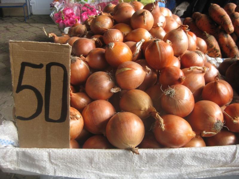 Луковый шок в Таганроге – цена на овощ растет неудержимыми  темпами