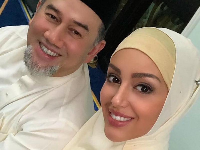 Таганроженка Оксана Воеводина развелась с экс-королем Малайзии