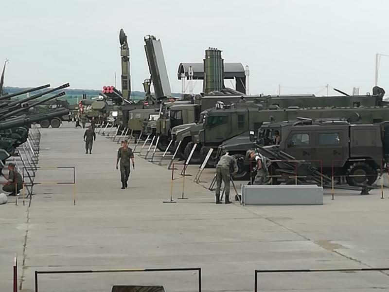 Под Таганрогом готовятся к международному форуму «Армия 2019»