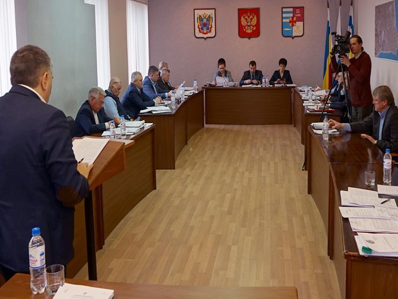 В измененный бюджет Таганрога внесли проблемные организации и места