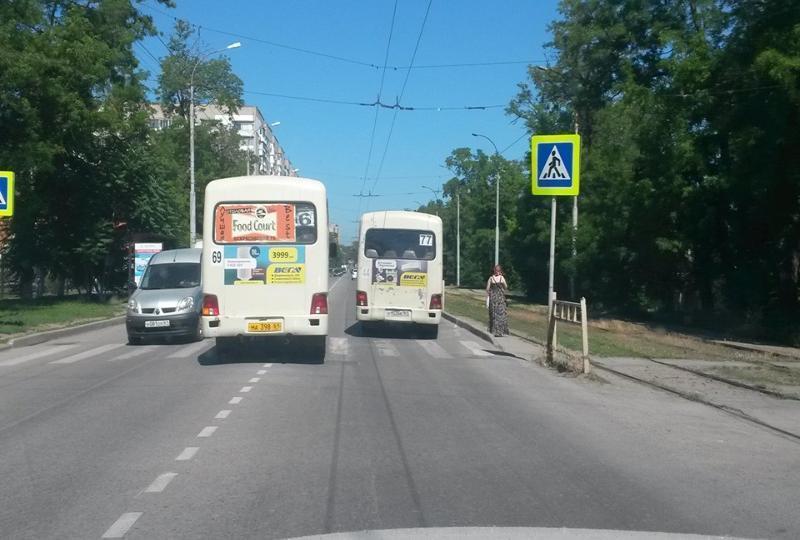 На таганрогские маршрутки нет управы