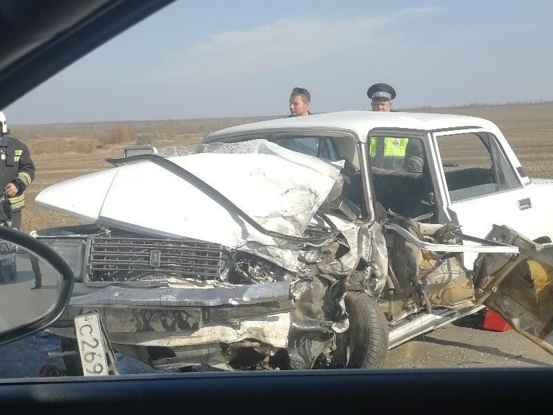 Сразу несколько крупных аварий произошло на въезде в Таганрог