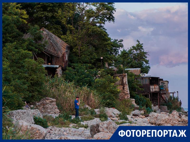 Остатки рыбацкого района Богудонии увидела фотограф «Блокнот Таганрог»