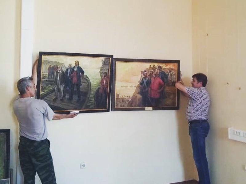 9 июня в Таганроге откроется выставка местных художников «Не  подводя итоги..»