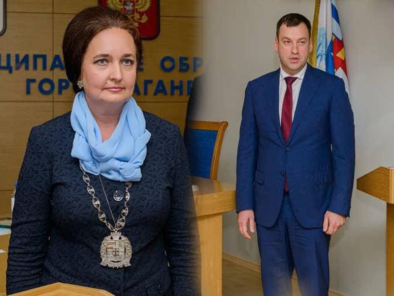 Здравствуйте, старые новые главы Таганрога  – Инна Титаренко и Андрей Лисицкий