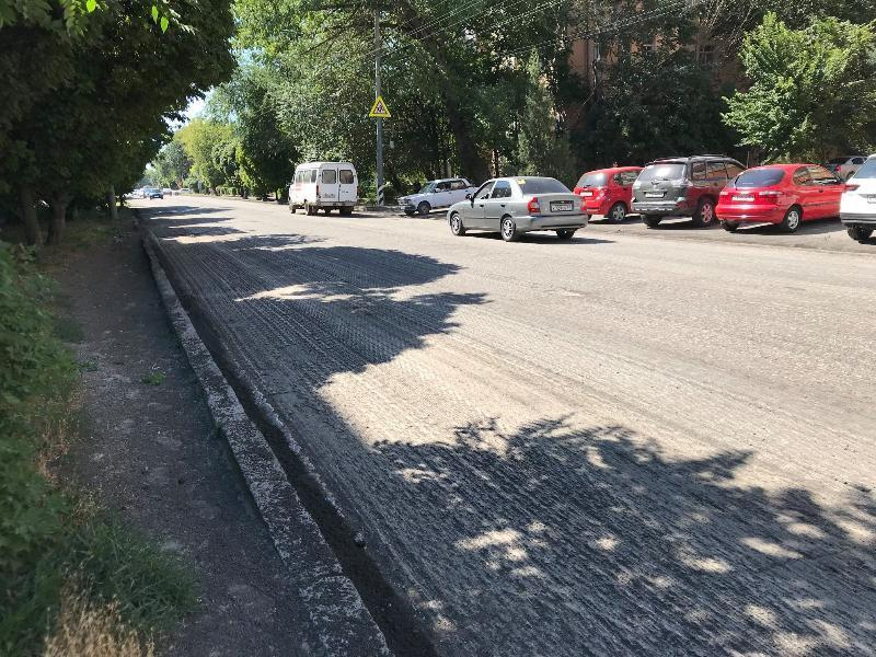 В Таганроге делают ремонт улицы Свободы, следующая - Кузнечная