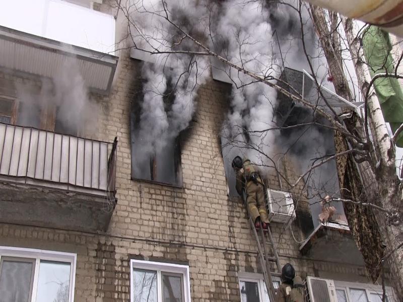 В Таганроге и пригороде произошли в один день два пожара