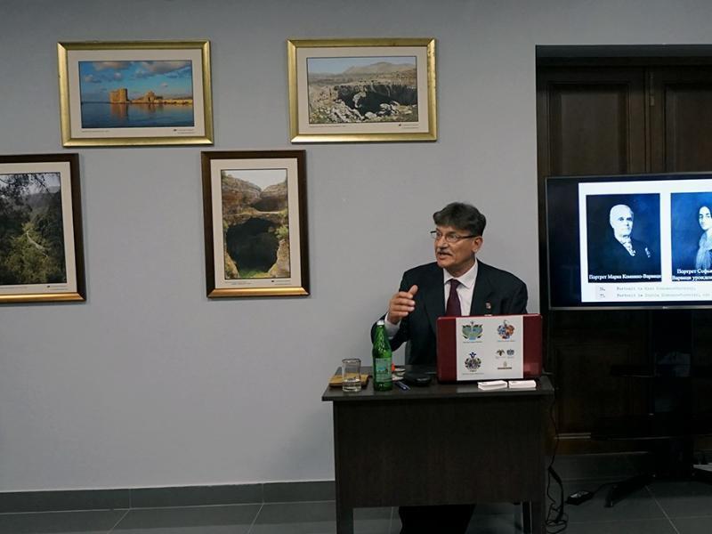 В Таганроге открыли выставку, посвященную Павлу Иорданову