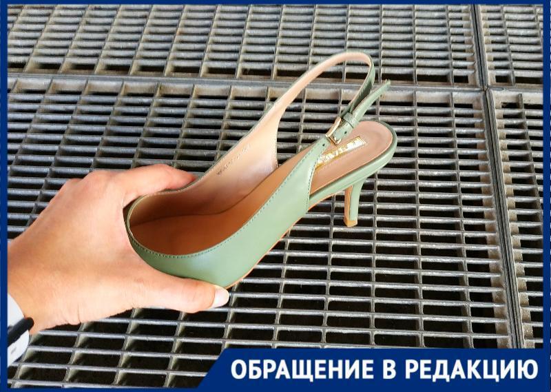 ТРЦ «Мармелад» в Таганроге не думает о своих покупательницах на шпильках