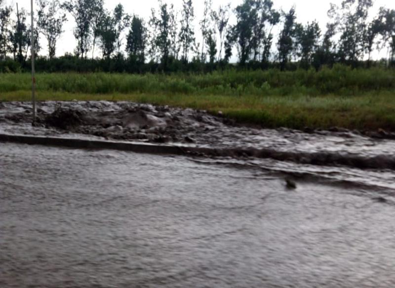 Погода в Таганроге решила выполнить три месячных нормы по осадкам и ветру