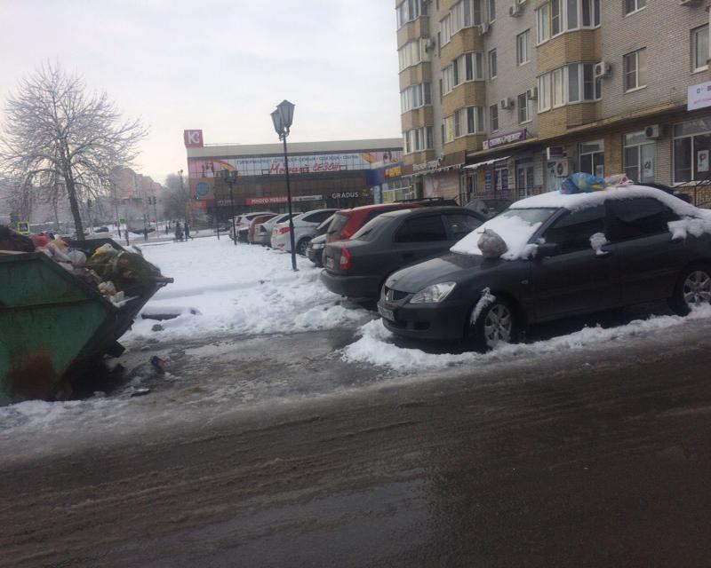 Мусор на машине таганрожца вызвал в городе много толков