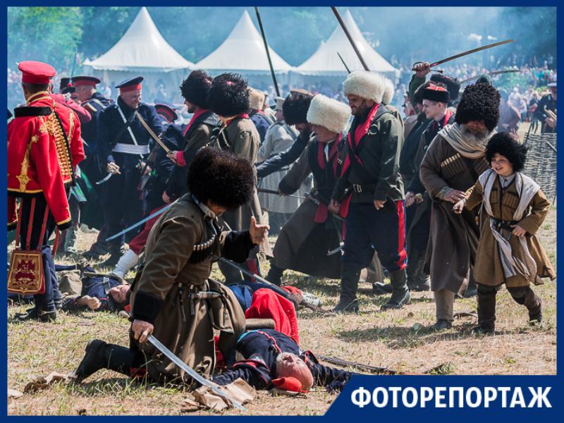 Масштабно прошел самый ожидаемый фестиваль года - «Оборона Таганрога 1855»