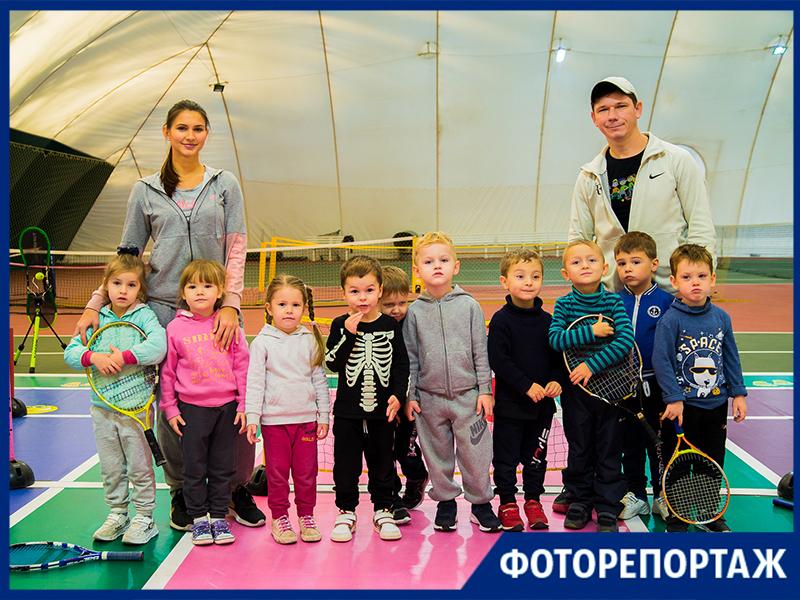 Большой теннис в Таганроге ждет детей на занятия с ранних лет