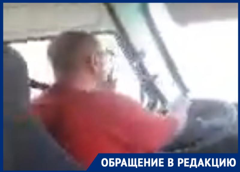 В Таганроге водитель машрутки № 50 снова «обкурил» детей