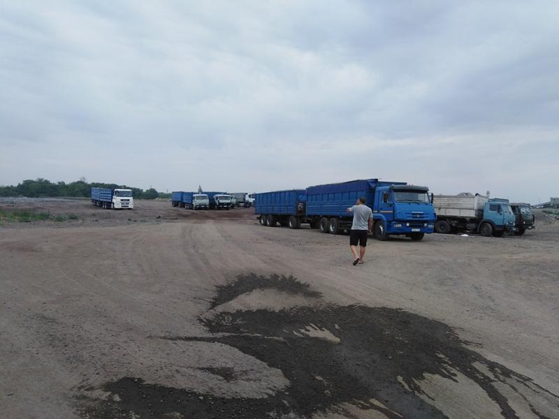 В Таганроге появилась стоянка для зерновозов