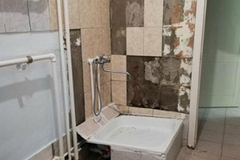 Про душ в детской больнице Таганрога рассказала анонимно жительница