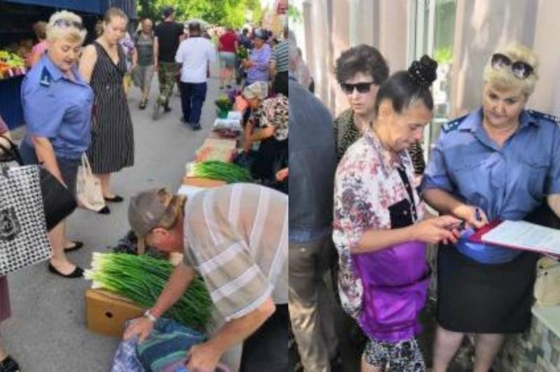 В Таганроге еще больше чиновников стали охотиться на торговцев клубники и зелени