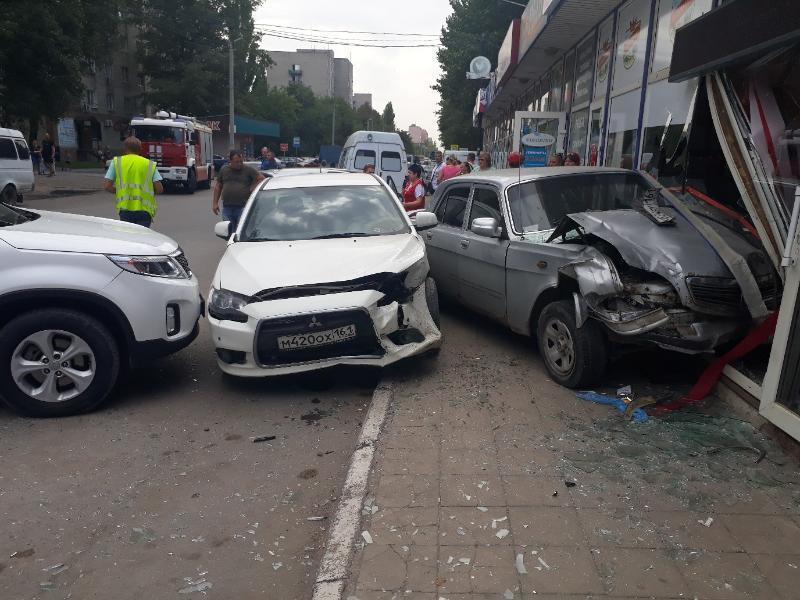 В Таганроге произошло новое крупное ДТП