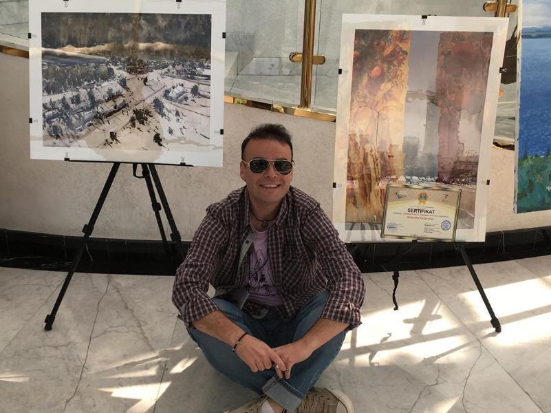 Художник из Таганрога стал стипендиатом Международной выставки в Нур-Султане