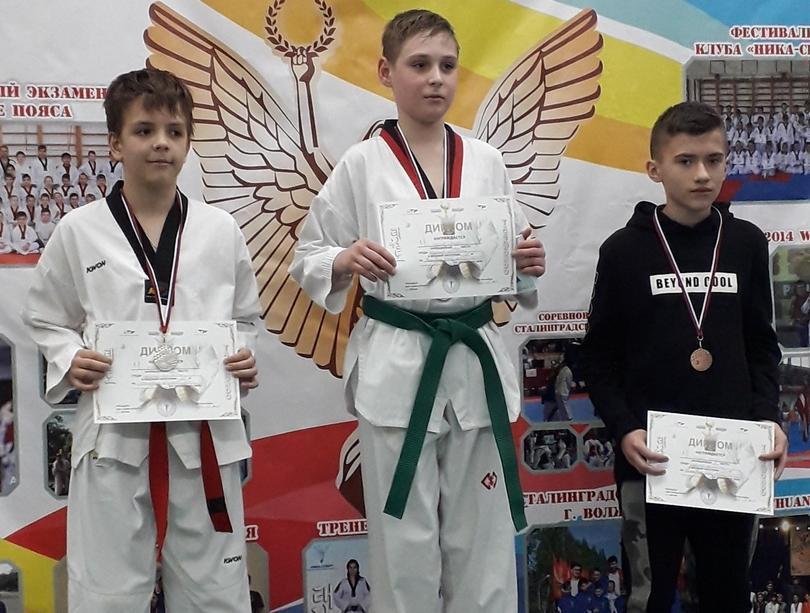 Юные спортсмены из Таганрога стали призерами на фестивале по тхэквондо