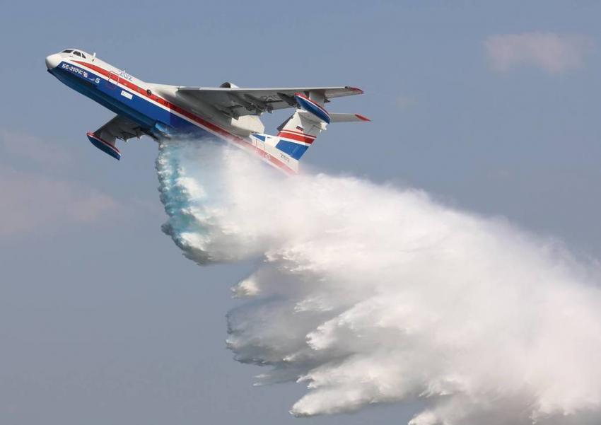 Российская Федерация поставит Китаю самолеты-амфибии Бе-200