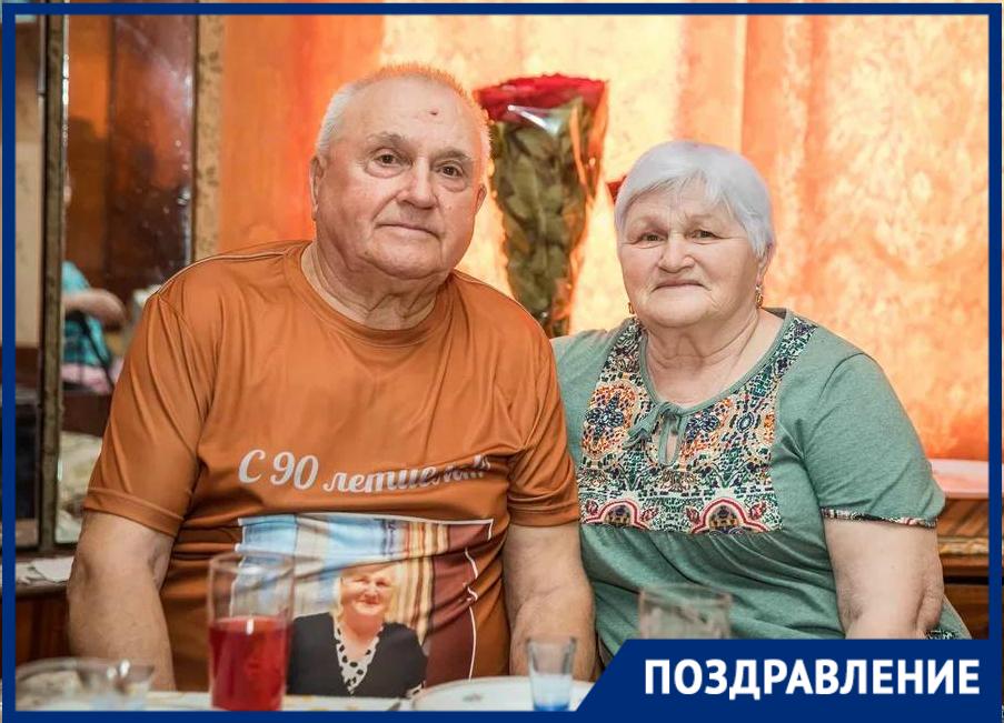 Заслуженный строитель Таганрога Николай Чебан отметил 90-летие в кругу семьи