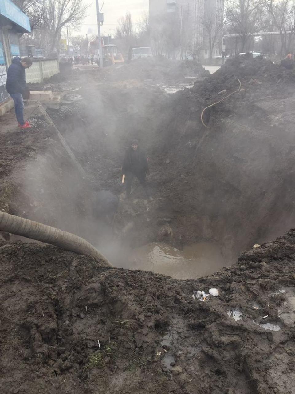Новосозданное «Городское хозяйство» заморозило целый жилой массив в Таганроге