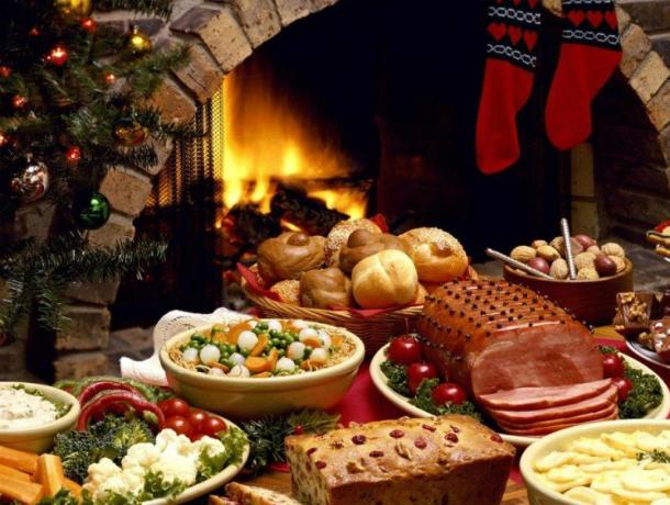 Советы таганрогским хозяйкам  - меню к Рождеству