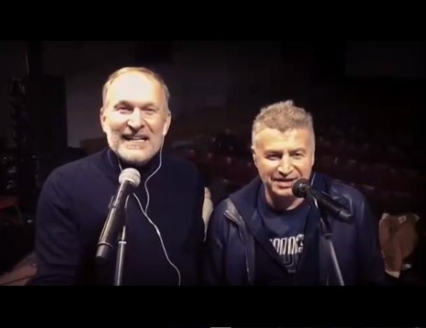 Федор Добронравов и Леонид Агутин спели дуэтом в «Олимпийском»