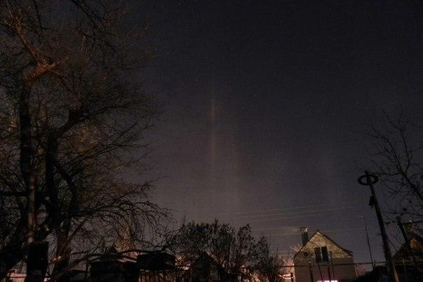 Таганрожцы смогли увидеть «северное сияние»