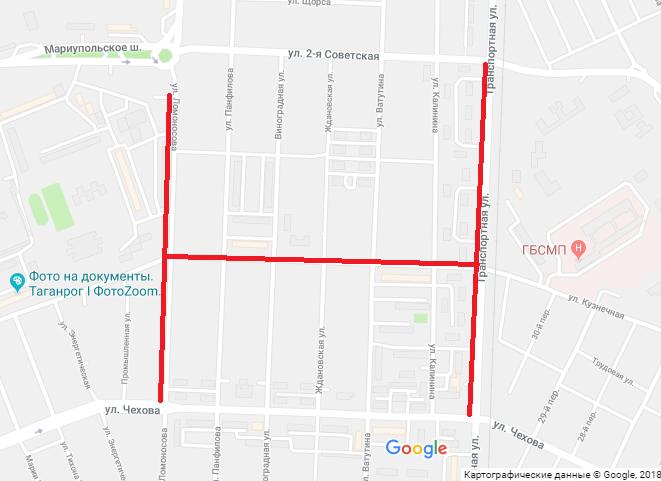 В Таганроге продлили срок  перекрытия улиц из-за ремонта коллектора
