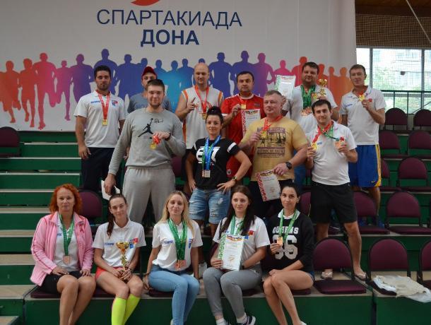 Команда из Таганрога завоевала бронзу на спартакиаде Дона