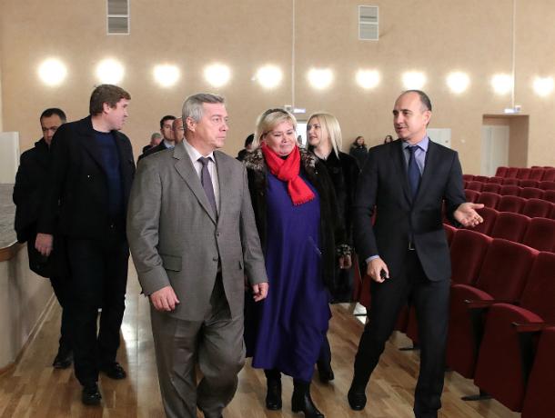 Губернатор Василий Голубев  озвучил  когда будет дан старт  Году народного творчества