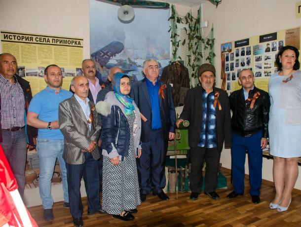 В Таганроге сын из Азербайджана нашел место захоронения отца