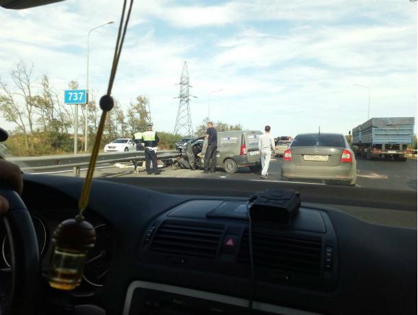 Двухлетний малыш погиб в страшнейшем ДТП с бензовозом в Ростовской области
